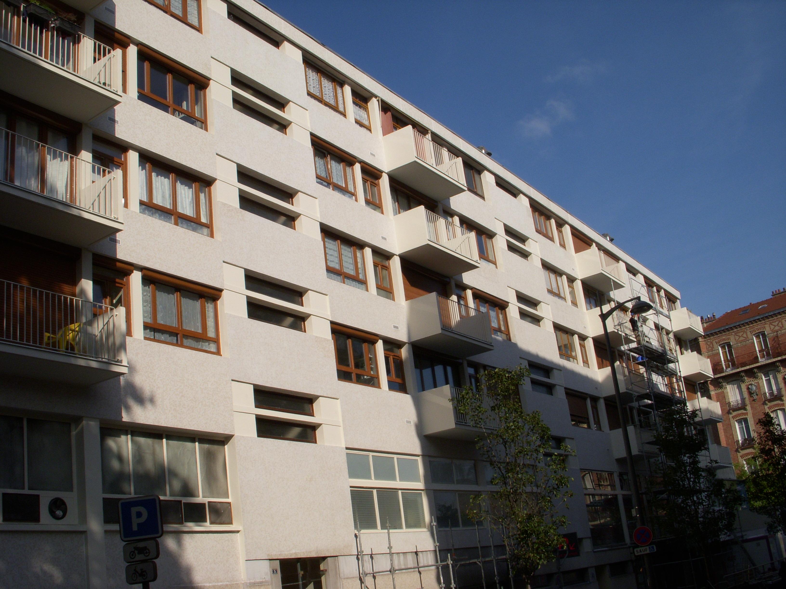 Ravalement - rue Casimir Vincent 92700 - Colombes