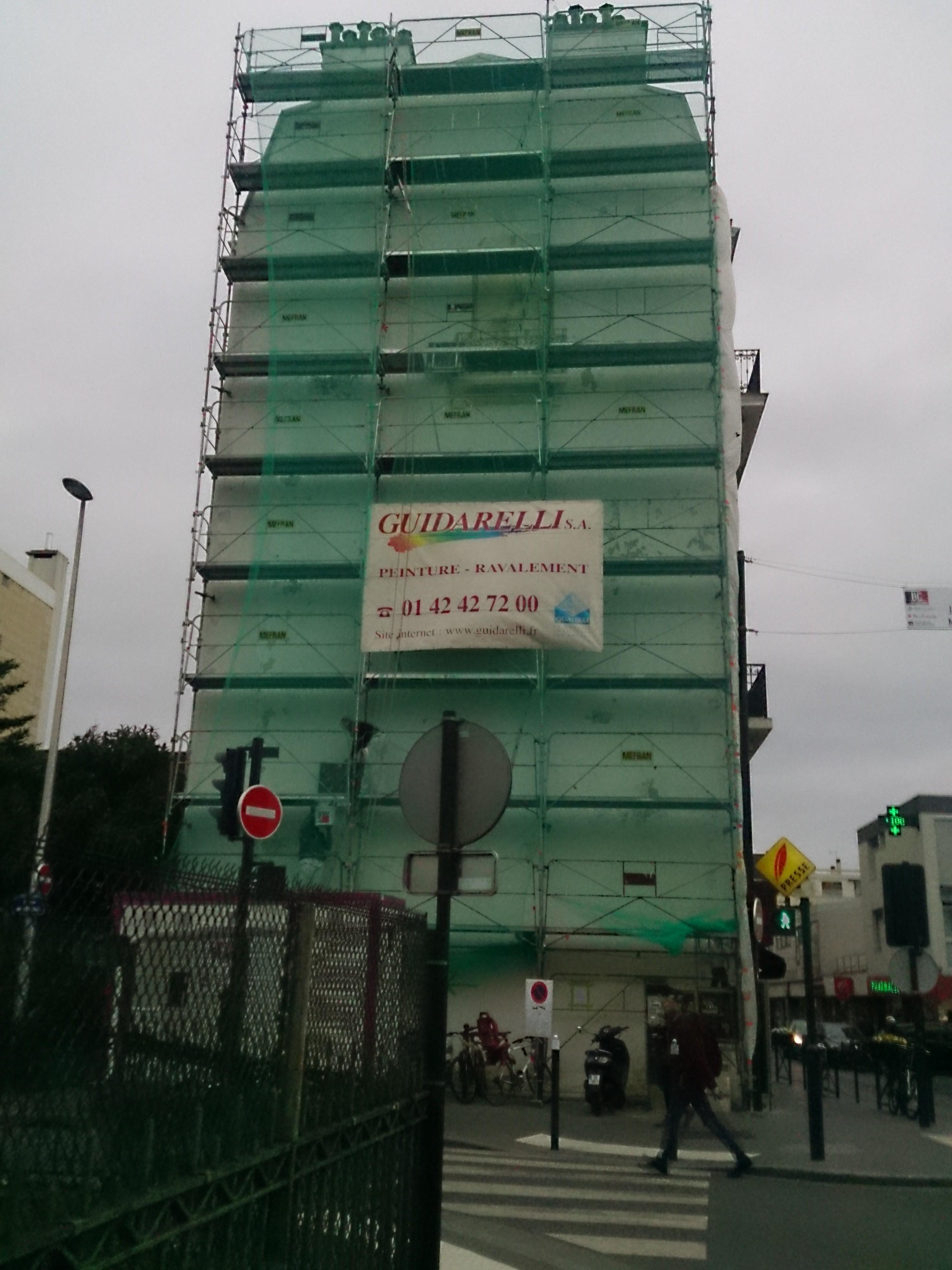 Ravalement - 3 rue Estiennes d'Orves 92230 - Bois-Colombes