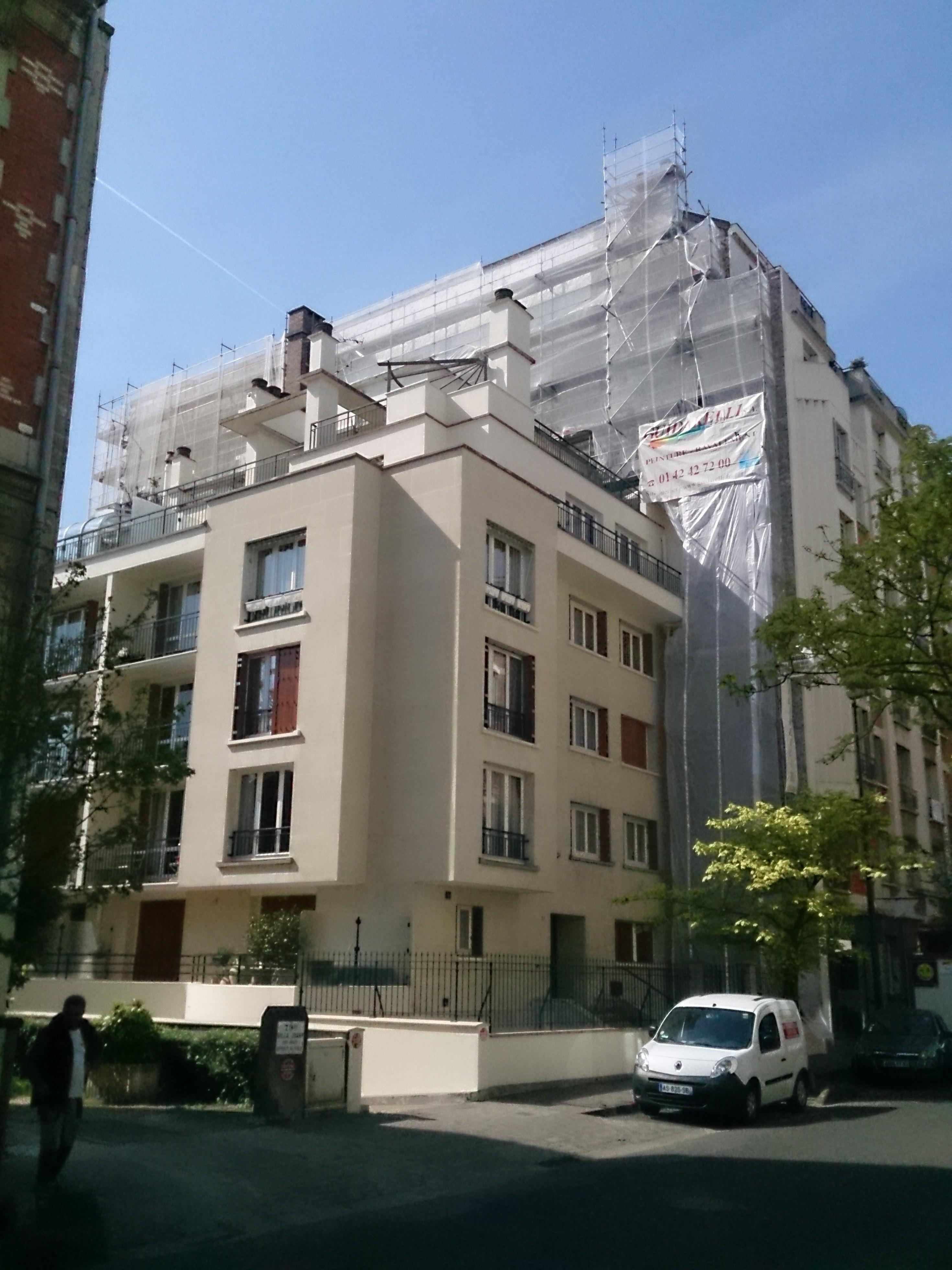 Ravalement - 83 rue Médéric 92230 - La Garenne Colombes
